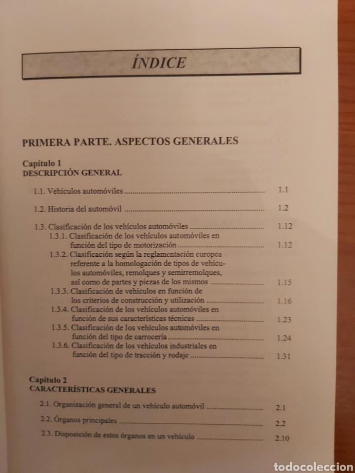 Libros de segunda mano: TRATADO SOBRE AUTOMÓVILES. TOMOS I y II. U.P.V - Foto 5 - 271157353