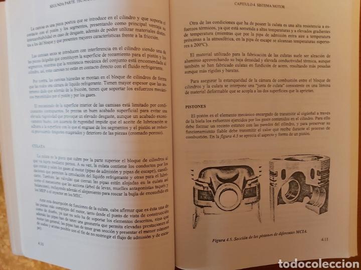 Libros de segunda mano: TRATADO SOBRE AUTOMÓVILES. TOMOS I y II. U.P.V - Foto 11 - 271157353
