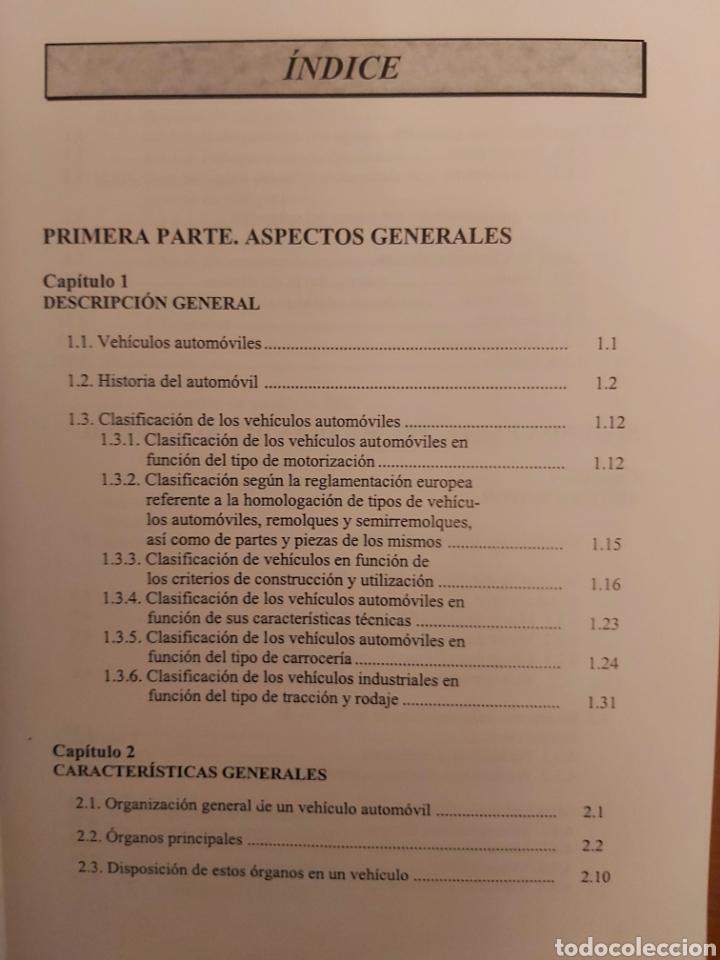 Libros de segunda mano: TRATADO SOBRE AUTOMÓVILES. TOMOS I y II. U.P.V - Foto 14 - 271157353