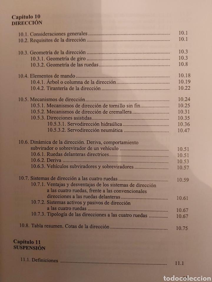 Libros de segunda mano: TRATADO SOBRE AUTOMÓVILES. TOMOS I y II. U.P.V - Foto 18 - 271157353