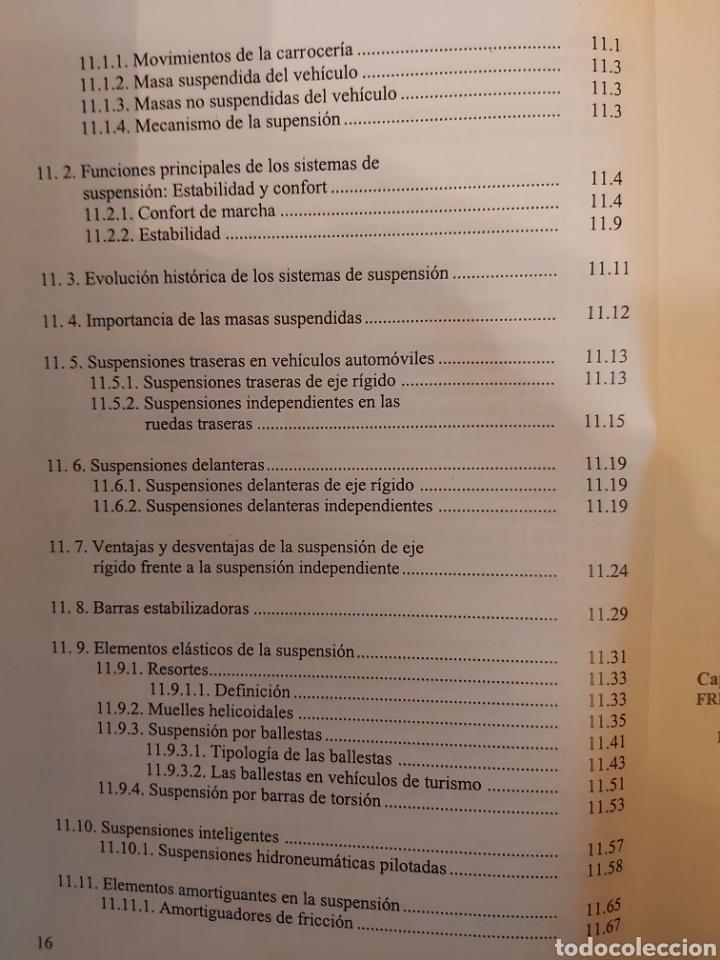 Libros de segunda mano: TRATADO SOBRE AUTOMÓVILES. TOMOS I y II. U.P.V - Foto 19 - 271157353