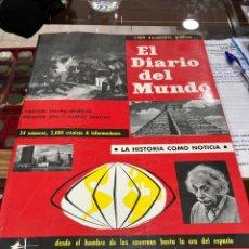 Libros de segunda mano: LIBRO EL DIARIO DEL MUNDO, MUY GRANDE. Lote 271394813