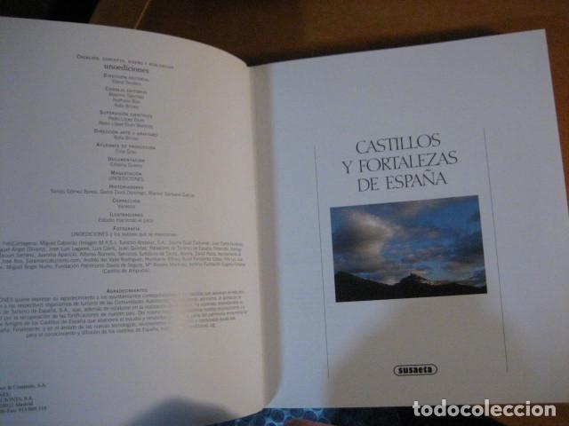 Libros de segunda mano: ATLAS ILUSTRADO DE CASTILLOS Y FORTALEZAS DE ESPAÑA / SUSAETA ... NUEVO ! DE LUJO - Foto 3 - 271430118