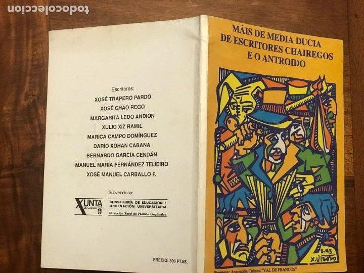 Libros de segunda mano: Máis de Media Ducia de Escritores Chairegos e o Antroido, Lugo, Galicia - Foto 2 - 271430658
