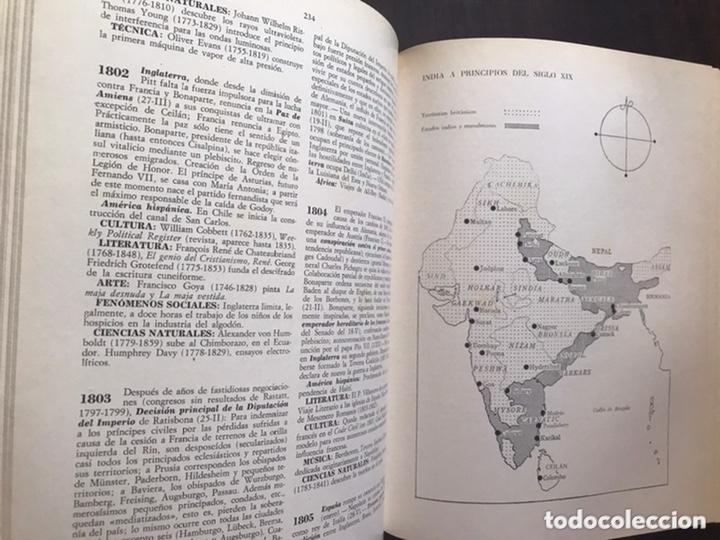 Libros de segunda mano: Diccionario por fechas de historia universal. Juventud - Foto 5 - 271432128