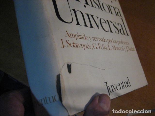 Libros de segunda mano: Diccionario por fechas de historia universal. Juventud - Foto 7 - 271432128
