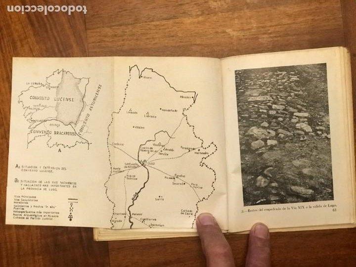 Libros de segunda mano: Adolfo de Abel Vilela, Felipe Arias Vilas; Guia Arqueológica Romana de Lugo y su Provincia, Galicia - Foto 4 - 271432548