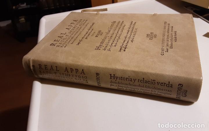 Libros de segunda mano: REAL APPARATO Y SVMPTVOSO RECEBIMIENTO CON QUE MADRID..., Juan López de Hoyos. Edición facsímil - Foto 2 - 271436518