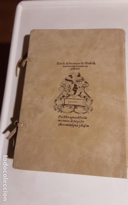 Libros de segunda mano: REAL APPARATO Y SVMPTVOSO RECEBIMIENTO CON QUE MADRID..., Juan López de Hoyos. Edición facsímil - Foto 3 - 271436518