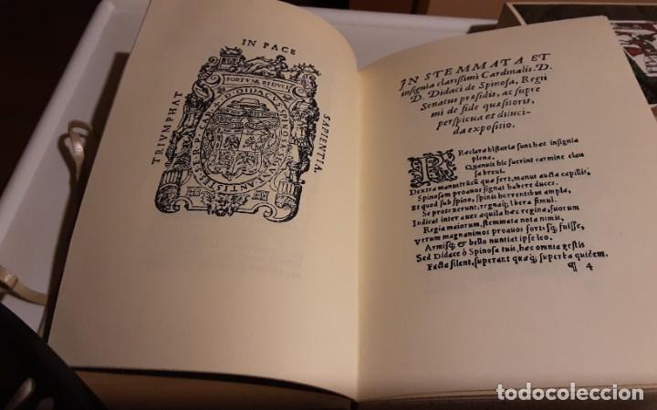 Libros de segunda mano: REAL APPARATO Y SVMPTVOSO RECEBIMIENTO CON QUE MADRID..., Juan López de Hoyos. Edición facsímil - Foto 4 - 271436518