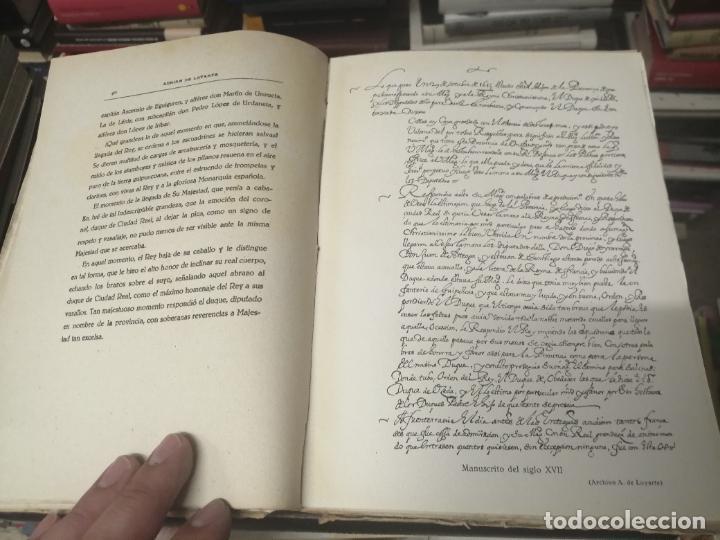 Libros de segunda mano: FELIPE III Y FELIPE IV EN SAN SEBASTIÁN . ADRIÁN DE LOYARTE . 1ª EDICIÓN 1949. - Foto 7 - 271438438