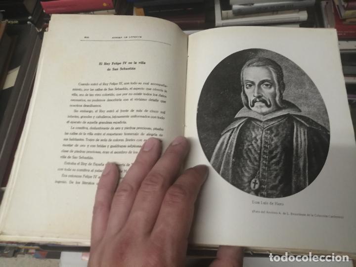 Libros de segunda mano: FELIPE III Y FELIPE IV EN SAN SEBASTIÁN . ADRIÁN DE LOYARTE . 1ª EDICIÓN 1949. - Foto 12 - 271438438