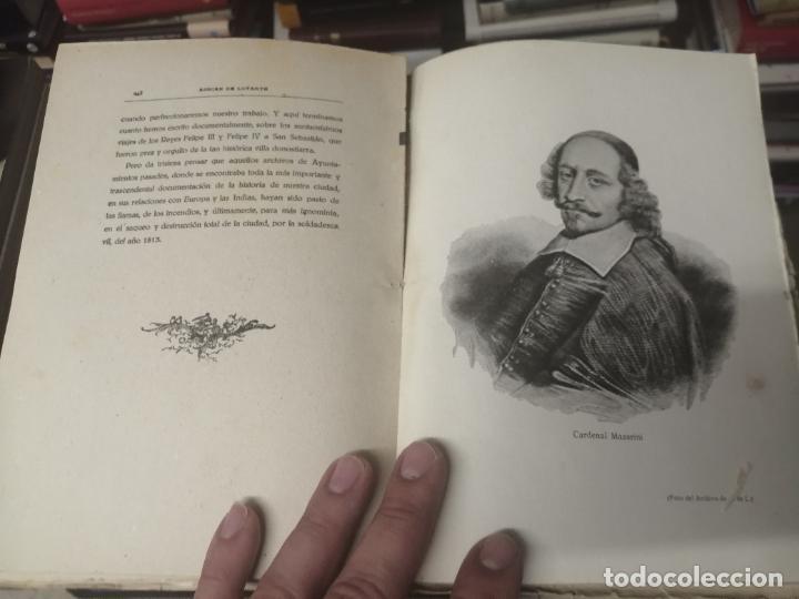 Libros de segunda mano: FELIPE III Y FELIPE IV EN SAN SEBASTIÁN . ADRIÁN DE LOYARTE . 1ª EDICIÓN 1949. - Foto 14 - 271438438