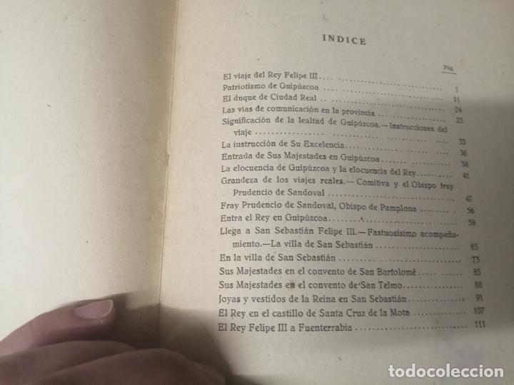 Libros de segunda mano: FELIPE III Y FELIPE IV EN SAN SEBASTIÁN . ADRIÁN DE LOYARTE . 1ª EDICIÓN 1949. - Foto 15 - 271438438