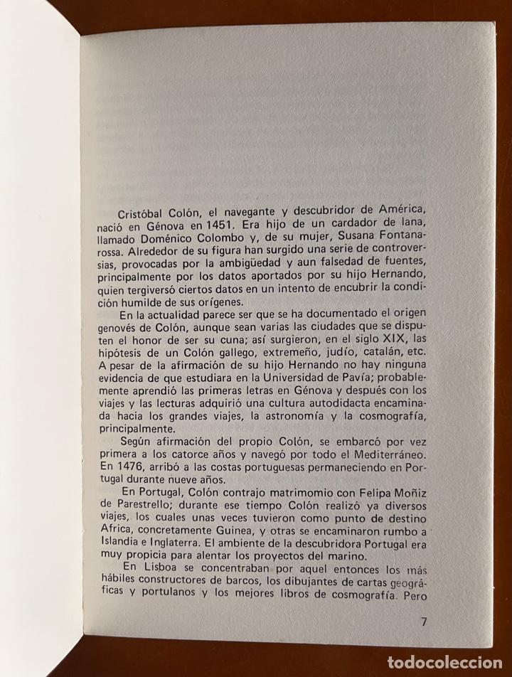 Libros de segunda mano: Cristobal Colon y Juan Sebastian Elcano. M. Del Pilar Bueno - Foto 2 - 271445993