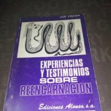 Libros de segunda mano: EXPERIENCIAS Y TESTIMONIOS SOBRE REENCARNACIÓN.- FISHER, JOE. Lote 271446168