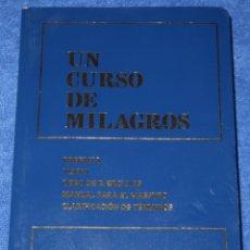 Libros de segunda mano: UN CURSO DE MILAGROS - FOUNDATION INNER PACE - EDITORIAL OCÉANO (2007). Lote 271513648