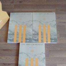 Libros de segunda mano: LAS TRES CHIMENEAS. HORACIO CAPEL. EN ESTUCHE. FECSA.. Lote 271590903
