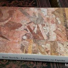 Libros de segunda mano: 1985 - JOAN SUREDA - LA PINTURA ROMÁNICA EN ESPAÑA - ALIANZA FORMA. Lote 271657963