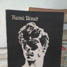 Libros de segunda mano: CONTRIBUCIÓN A UNA ÉTICA RACISTA DE RENÉ BINET 1980. Lote 271681683