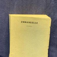 Libros de segunda mano: LIBRO EROTICO EMMANUELLE ANTI VIERGE ALAIN BOSQUET 19X15CMS. Lote 271884178