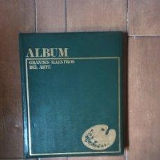 Libros de segunda mano: ALBUM GRANDES MAESTROS DEL ARTE EDICIÓN MARÍN. Lote 272030268