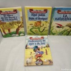 Libros de segunda mano: PACK 4 LIBROS DE GLORIA FUERTES: PROFESIONES DE AYER Y DE HOY /QUÉ PATAS TIENE EL TIEMPO/ Y 2 MÁS.... Lote 272157348