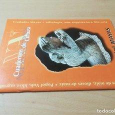 Libros de segunda mano: ESPECIAL MAYAS. CIUDADES, MITOLOGIA / HOMBRES DIOSES MAIZ, POPOL VUH / N ACROPOLIS / AI41+18U. Lote 272295028