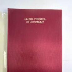 Libros de segunda mano: LLIBRE VERMELL DE MONTSERRAT, EDICIO FACSIMIL PARCIAL DEL MANUSCRIT NUM.1. 1989.. Lote 272353558