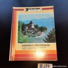 Libros de segunda mano: GRANDES CIRCUITOS. Lote 272438118
