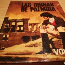 Libros de segunda mano: LAS RUINAS DE PALMIRA - CONDE VOLNEY - EDICIONES PETRONIO S.A.. Lote 272497753