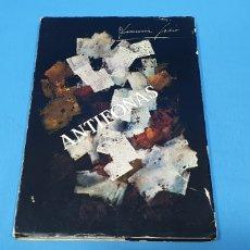 Libros de segunda mano: ANTIFONAS - DIONISIA GARCÍA - DIBUJOS DE PÁRRAGA - PORTADA DE SÁNCHEZ BORREGUERO - 1978. Lote 272571638