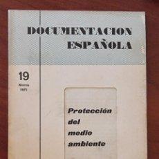 Libros de segunda mano: DOCUMENTACION ESPAÑOLA. PROTECCION DEL MEDIO AMBIENTE. ED. EFE. MADRID, 1971. PAGS: 25.. Lote 272864778