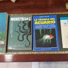 Libros de segunda mano: LOTE DE 4 LIBROS (MUNDO SUBMARINO). Lote 272912698