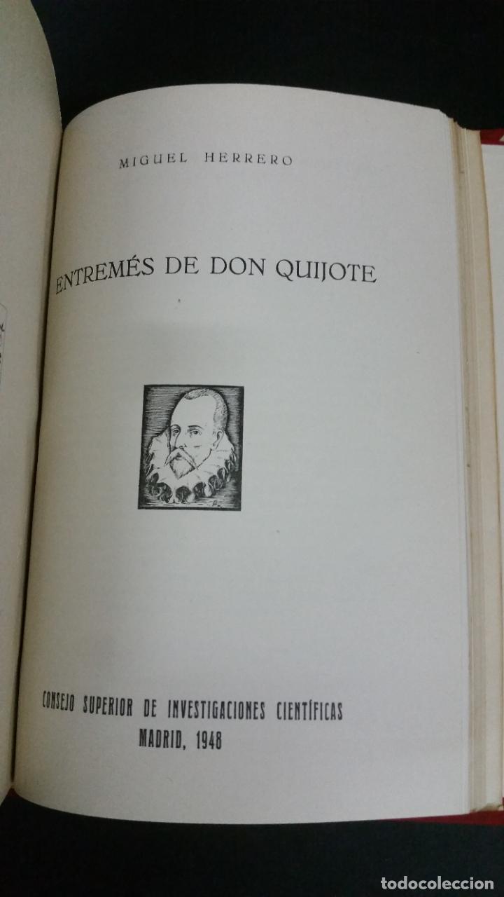 Libros de segunda mano: Revista Bibliográfica y Documental. Archivo general de erudición hispánica. Años 1947 a 1951 - Foto 16 - 269312083