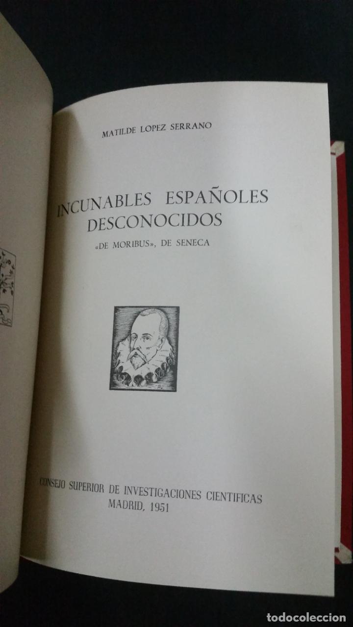 Libros de segunda mano: Revista Bibliográfica y Documental. Archivo general de erudición hispánica. Años 1947 a 1951 - Foto 19 - 269312083