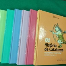 Libros de segunda mano: HISTORIA DE CATALUNYA. COMPLETA (7 VOL.). IL·LUSTRACIONS: PILARIN BAYES. ED. 62,, 1ª EDICIO 2014. Lote 159565434
