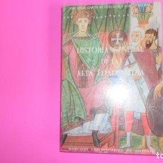 Libros de segunda mano: HISTORIA GENERAL DE LA EDAD MEDIA, JOSÉ ANGEL GARCÍA DE CÓRTAZAR, ED. MAYFE, TAPA BLANDA. Lote 273721013