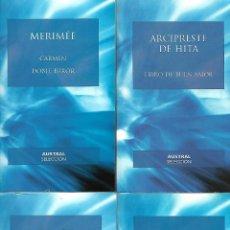 Libros de segunda mano: GRAN OPORTUNIDAD COLECCION AUSTRAL 41 LIBROS EN PERFECTO ESTADO VER FOTOS. Lote 273728298