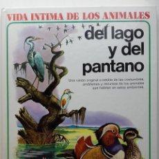 Libros de segunda mano: VIDA ÍNTIMA DE LOS ANIMALES DEL LAGO Y DEL PANTANO - Nº 5 - AURIGA CIENCIA - 1984. Lote 274022228