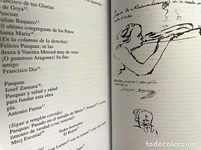 Libros de segunda mano: Goya : Cartas a Martín Zapater (Nueva edición de la correspondencia puesta al dia. Notas…) - Foto 3 - 274376258