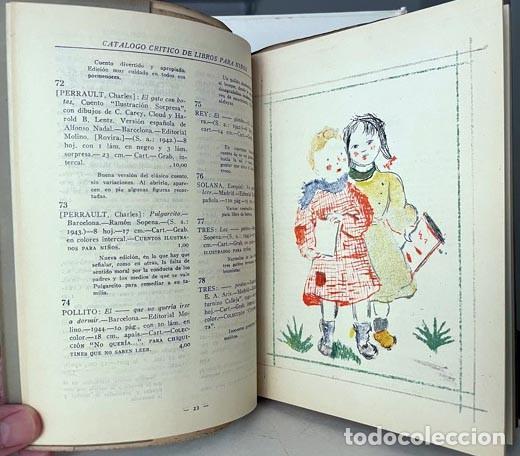 CATÁLOGO CRÍTICO DE LIBROS PARA NIÑOS. 1945. (916 ENTRADAS) (Libros de Segunda Mano - Literatura Infantil y Juvenil - Otros)