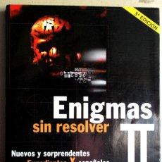 Libros de segunda mano: ENIGMAS SIN RESOLVER. Lote 274392698