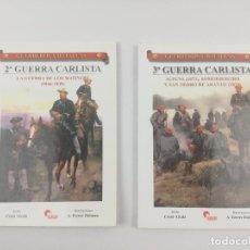Livros em segunda mão: SEGUNDA Y TERCERA GUERRA CARLISTA ALMENA. Lote 274426258
