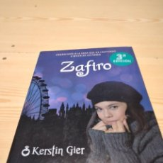 Libros de segunda mano: M-42 LIBRO ZAFIRO KERSTIN GIER. Lote 274434148