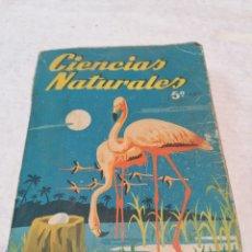 Libros de segunda mano: CIENCIAS NATURALES 1962. Lote 274669103