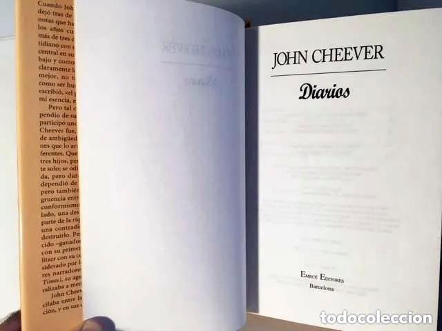 Libros de segunda mano: John Cheever : Diarios (1ª ed española) (The journals of John Cheever 1912-1982) - Foto 3 - 274683218