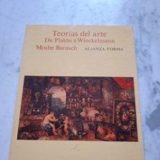 Libros de segunda mano: TEORIAS DEL ARTE DE PLATON A WINCKELMAN.. Lote 274722753