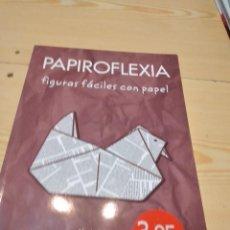 Libros de segunda mano: G-82 LIBRO PAPIROFLEXIA, FIGURAS FÁCILES CON PAPEL POR ALEXIS J. MARTOS DE ED. EDIMAT. Lote 274810968
