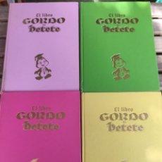 Libros de segunda mano: EL LIBRO GORDO DE PETETE. 4 TOMOS. BUEN ESTADO. GARCÍA FERRÉ. 1982. Lote 274845833